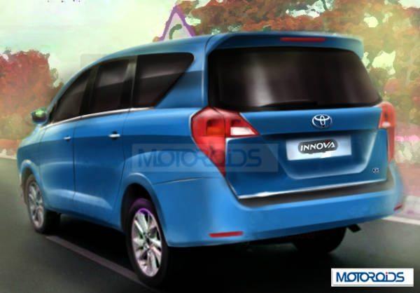 Rendered: Next-generation 2016 Toyota Innova