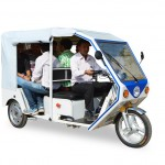 Terra Motors debuts in India with the R6 electric three wheeler
