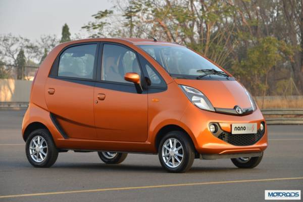 Upcoming cars 2015 Tata Nano AMT