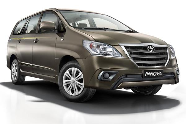 New Car Launch 2015: Updated Toyota Innova and Fortuner 4x4 Automatic