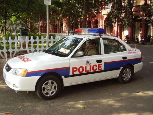 cop cars in India (1)