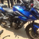 Bajaj Pulsar 200 Adventure Sports spotted in Indonesia