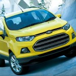 Made in India School Bus Yellow Ford Ecosport launched in Japan