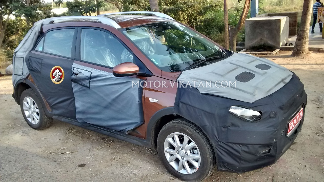Hyundai Elite i20 Cross spied again: Clearest images yet