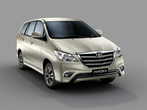 new car launch 2015 updated toyota innova and fortuner 4 4 automatic