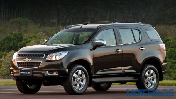GM India to launch the Chevrolet Trailblazer SUV in 2015 | Motoroids